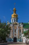 Entrance gate of the Pechersk Lavra in Kiev Stock Photos