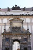 Entrance Gate of the Prague Castle Stock Photography