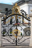 Entrance gate of Slovak Presidential palace royalty free stock photography