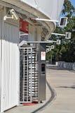 Entrance gate of the stadium Stock Image