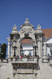 Entrance gate to the Castle, Budapest. Stock Image