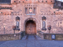 Entrance Gate to Edinburgh Castle Royalty Free Stock Photo