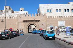 Entrance gate to Essaouira, Morocco Royalty Free Stock Images