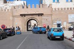 Entrance gate to Essaouira, Morocco Stock Photos