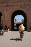 Entrance gate to Essaouira, Morocco Stock Photos