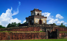 Entrance gate to the Imperial City, Hue, Vietnam. Stock Photography