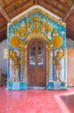 The entrance gate to Natha Devale shrine Royalty Free Stock Photo