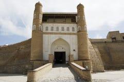The entrance gate to the old city of Bukhara. Uzbekistan Stock Image
