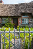 Entrance gate to old traditional Irish cottage Royalty Free Stock Photo