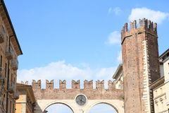 Entrance gate to old Verona Stock Photography