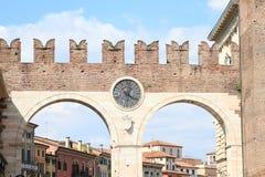 Entrance gate to old Verona Royalty Free Stock Photos