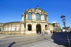 The entrance gate to Zwinger Stock Photo