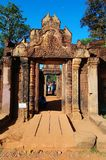 Entrance gopura Royalty Free Stock Images