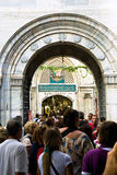 Entrance in Grand Bazaar (Grand Market) in Istanbul Stock Images
