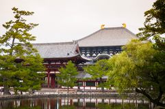 Todaiji Temple - Nara - Japan Royalty Free Stock Photos