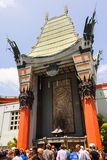 Entrance of Grauman s Chinese Theatre in Hollywood Stock Image