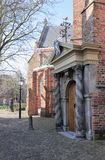 Entrance of Great Church, Leeuwarden Royalty Free Stock Photos