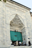 Entrance Great Mosque, Bursa, Turkey Stock Photography