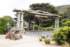 Entrance Great Ocean Road, Australia Stock Photo