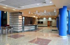 Entrance hall interior. Empty entrance hall interior in office building Royalty Free Stock Photos
