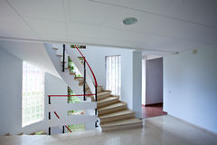 Entrance hall with stairs Stock Images