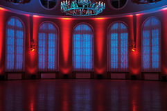 Free Entrance Hall With Art Backlight. Royalty Free Stock Photos - 17831128