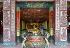 The Entrance Hall of the Wumiao Temple Royalty Free Stock Photos
