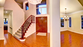Entrance hallway. Panoramic view Stock Photo