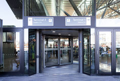 Entrance Hamburg Airport Stock Photography