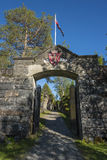 Entrance Hegra Fortress Norway Royalty Free Stock Photography