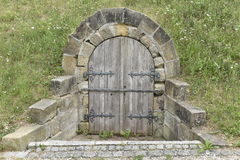 Entrance of Historical Beer Cellar, Germany Royalty Free Stock Photo
