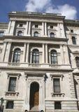 Entrance, HM Treasury. the Treasury, London, England, UK Royalty Free Stock Photography