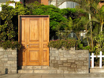 Entrance of a house. Photograph was taken in Lima - Peru Royalty Free Stock Photos