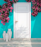 Entrance of a house. Royalty Free Stock Images