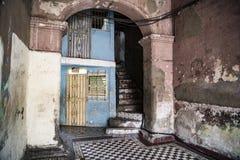 Entrance of house, Santiago de Cuba Royalty Free Stock Photo