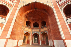 Entrance of Humayun's Tomb - New Delhi India Royalty Free Stock Photo