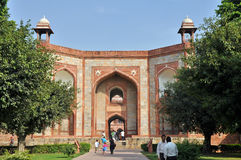 The entrance of Humayun Tomb Royalty Free Stock Images