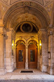 Entrance of Hungarian state opera Stock Images