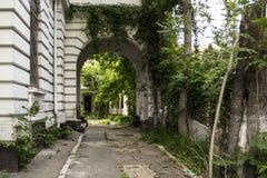 entrance huset Fotografering för Bildbyråer