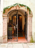 entrance huset Royaltyfri Foto
