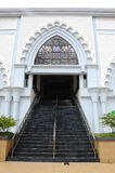 Entrance of India Muslim Mosque in Klang Stock Photo
