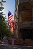 Entrance of J Edgar Hoover Building in Washington DC Stock Image