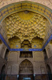 The entrance of the Jameh Mosque in Irsfahan, Iran Royalty Free Stock Photos