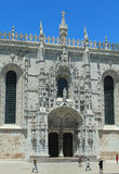 Entrance Jeronimos Monastery Stock Images