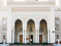 Entrance Jumeirah Mosque, Dubai Stock Image