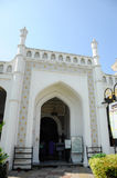 Entrance of Kapitan Keling Mosque in Penang Stock Photo