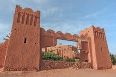 Entrance of ksar Ait Benhaddou, Ouarzazate. Morocco. Royalty Free Stock Image