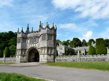 Entrance at Lanhydrock Castle Stock Photos
