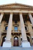 Entrance of legislative building Stock Photos