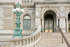 Entrance Library of Congress Stock Images